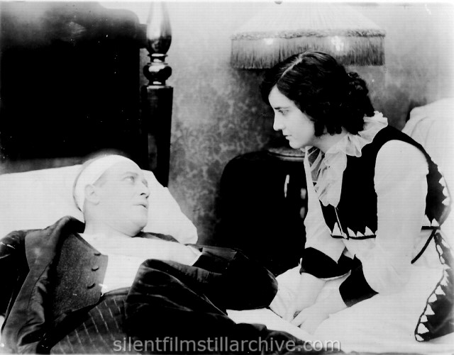 H. B. Warner and Clara Williams in THE MARKET OF VAIN DESIRE (1916)