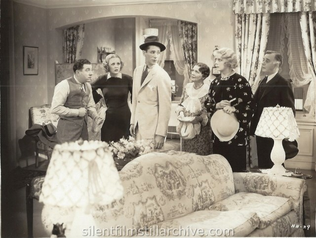 MAYBE IT'S LOVE (1935) with Frank McHugh, Gloria Stuart, Ross Alexander, Helen Lowell, Ruth Donnelly and Henry Travers