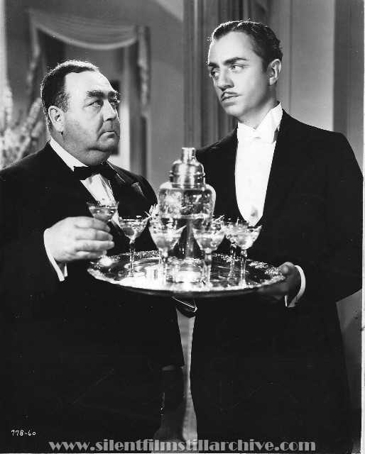Eugene Pallette and William Powell in MY MAN GODFREY (1936).