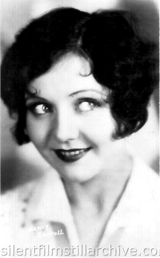 Nancy Carroll postcard