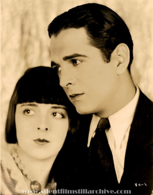 Colleen Moore and Donald Reed in NAUGHTY BUT NICE (1927)