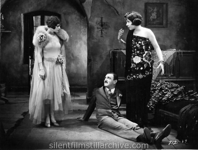 Vera Reynolds, Raymond Grifith, and Louise Fazenda in THE NIGHT CLUB (1925)