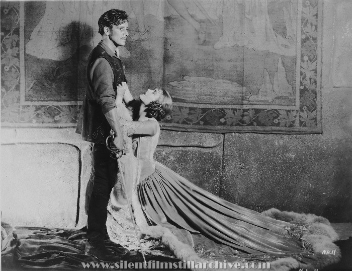 Ronald Colman and Vilmy Banky in THE NIGHT OF LOVE (1927)