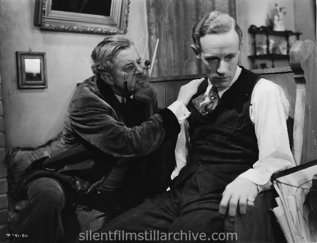 Reginald Owen and Leslie Howard in OF HUMAN BONDAGE (1934)