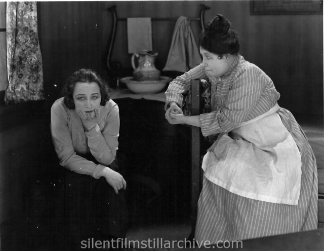 Pauline Frederick and Lydia Yeamans Titus in THE PEACE OF ROARING RIVER (1919)