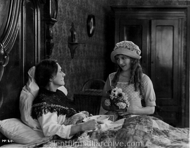 Katherine Griffith and Mary Pickford in POLLYANNA (1920)