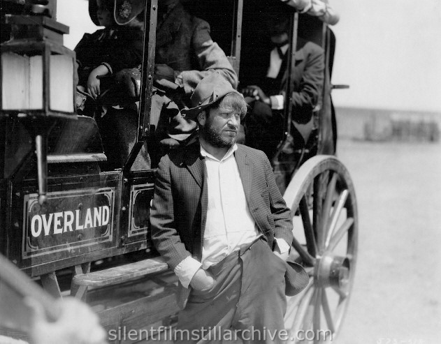 Wallace Beery in THE PONY EXPRESS (1925)