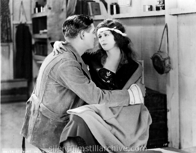 Edward Hearn and Anita Stewart in A QUESTION OF HONOR (1922)