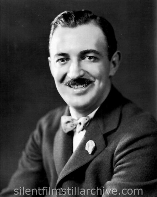 Raymond Griffith Publicity photo, for Goldwyn Pictures. Photographed by Clarence S. Bull.