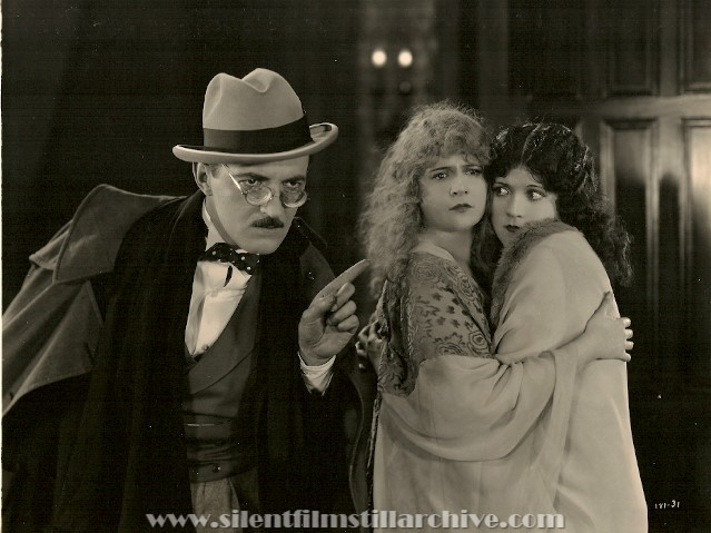 Raymond Griffith, Alice Lake, and Marie Prevost in RED LIGHTS (1923)