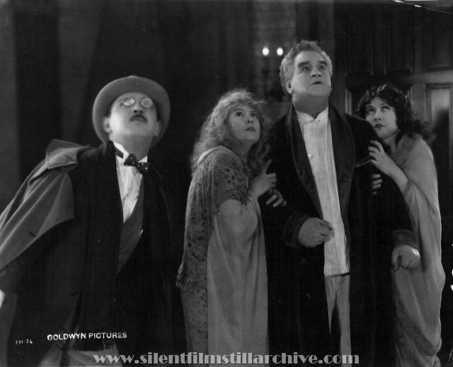 Raymond Griffith, Alice Lake, Lionel Belmore and Marie Prevost in RED LIGHTS (1923)
