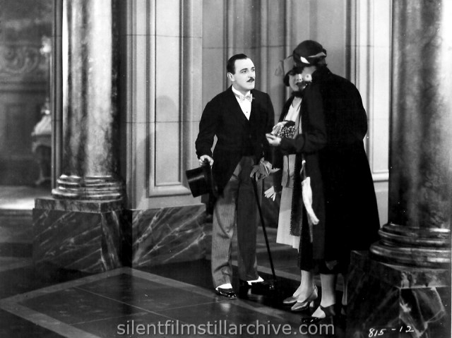 Raymond Griffith, Mary Brian and Kathleen Kirkham in A REGULAR FELLOW (1925) aka HE'S A PRINCE