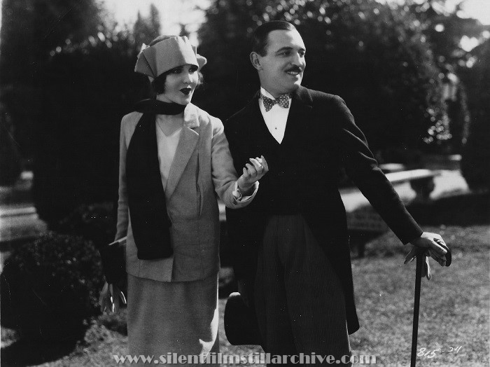 Raymond Griffith and Mary Brian in A REGULAR FELLOW (1925) aka HE'S A PRINCE