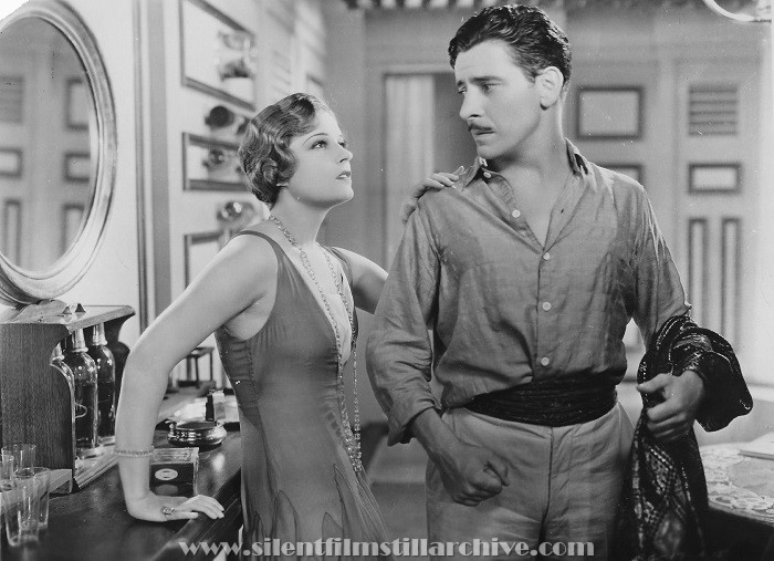 Lili Damita and Ronald Colman in THE RESCUE (1929)