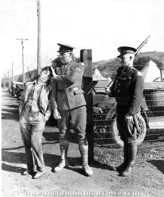 George K. Arthur, Karl Dane and E.H. Calvert in ROOKIES (1927)