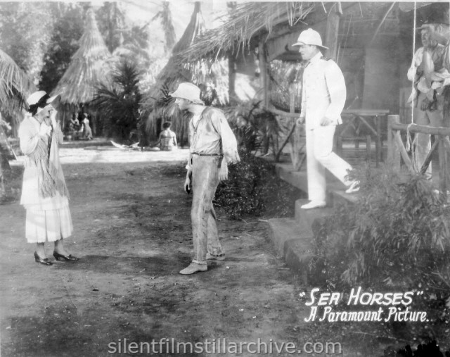 Florence Vidor, William Powell and Jack Holt in SEA HORSES (1926)