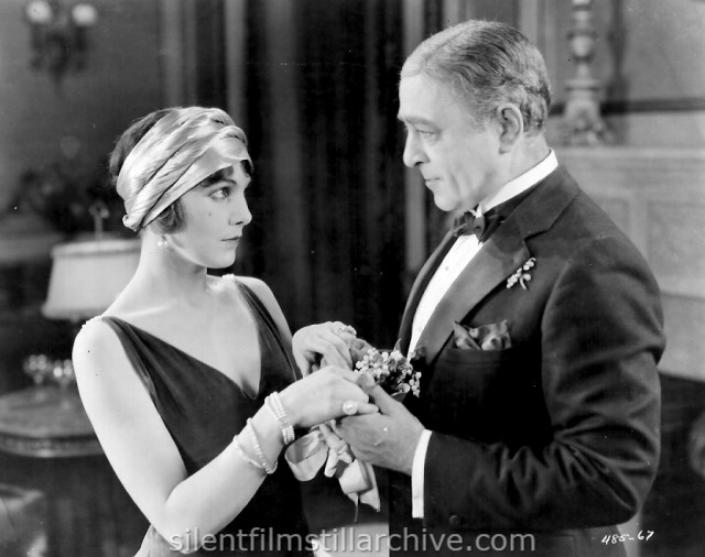 Leatrice Joy and Robert Edeson in THE SILENT PARTNER (1923)