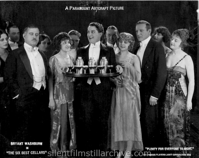 Bryant Washburn in THE SIX BEST CELLARS (1920)