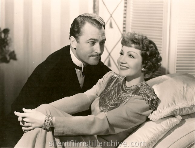 Brian Aherne and Claudette Colbert in SKYLARK (1941)