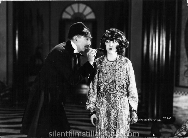 Tully Marshall and Mabel Normand in THE SLIM PRINCESS (1920)