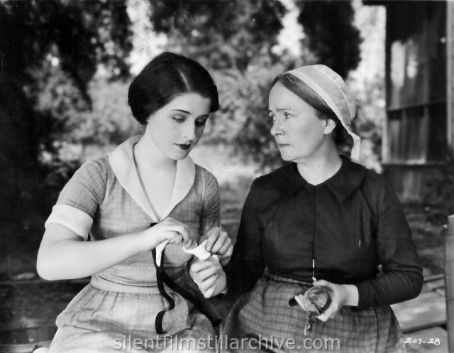 Norma Shearer and Margaret Seddon in THE SNOB (1924)