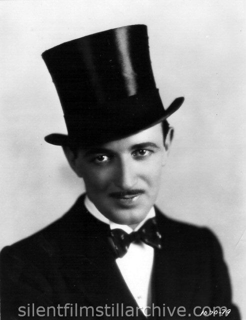 Raymond Griffith in TIME TO LOVE (1927)