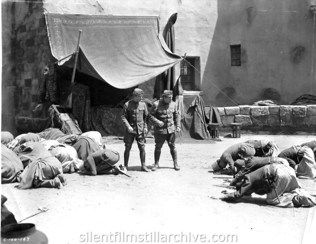 William Boyd and Louis Wolheim in TWO ARABIAN KNIGHTS (1927)