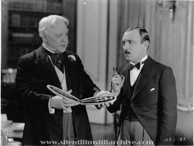 Tom Guise and Raymond Griffith in WEDDING BILL$ (1927)