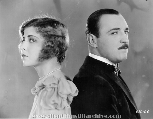 Raymond Griffith and Anne Sheridan in WEDDING BILL$ (1927)