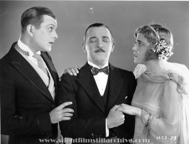 Raymond Griffith and Anne Sheridan in WEDDING BILL$(1927).