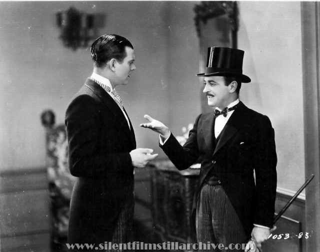 Hallam Coley and Raymond Griffith in WEDDING BILL$ (1927)