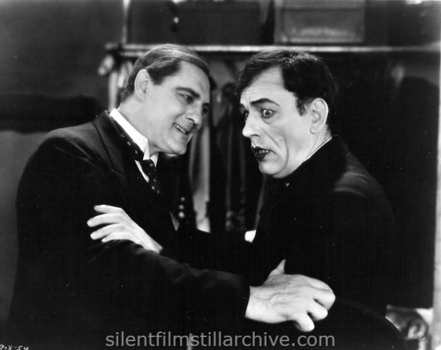 Lionel Barrymore and Lon Chaney in WEST OF ZANZIBAR (1928)