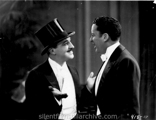 Raymond Griffith and Bryant Washburn in WET PAINT (1926)