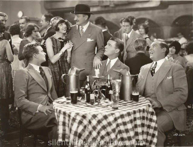 Eddie Clayton, Colleen Moore, Louis Natheaux, Neil Hamilton and Lincoln Steadman in WHY BE GOOD? (1929)