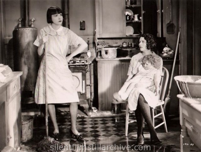 Colleen Moore and Collette Merton in WHY BE GOOD? (1929)