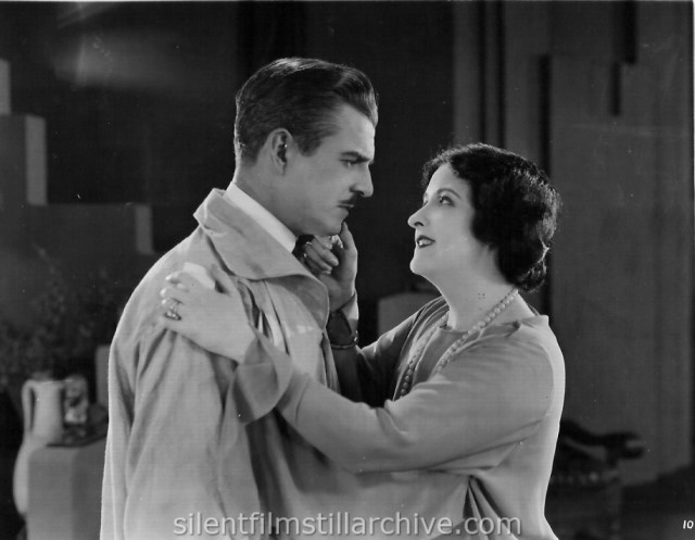 Lloyd Whitlock and Clara Kimball Young in WOMAN OF BRONZE (1923)