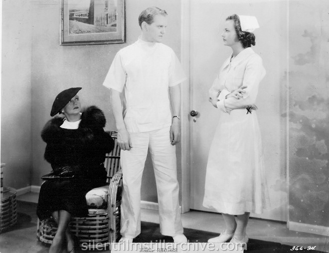Minna Gombell, Hardie Albright, and Nell Rhodes in WOMEN MUST DRESS (1935)