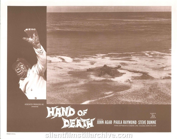 John Agar in HAND OF DEATH (1962)