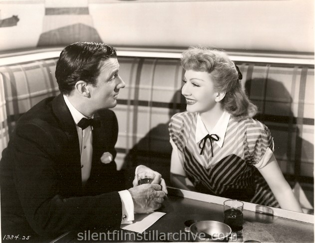 Robert Sterling and Claudette Colbert in SECRET HEART (1946)